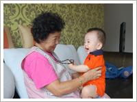 출산가정육아지원사업